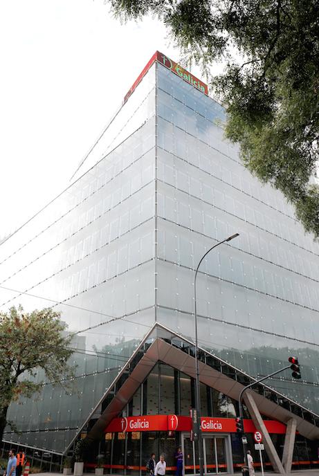 Plaza Galicia, edificio sustentable
