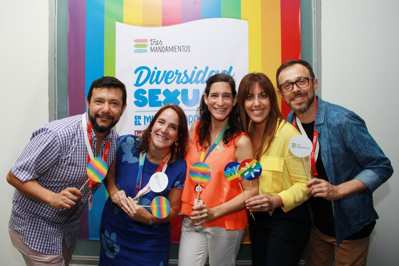 Arturo Mercado, Estefanía Giganti, Delfina Daglio, Natalia Kingsland, Eduardo Otero