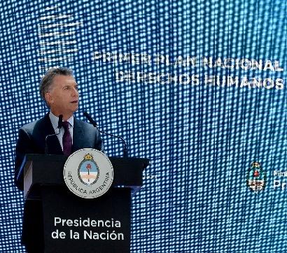 El Presidente Macri presentó el Plan Nacional de Acción en Derechos Humanos