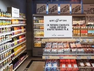 Ámsterdam inauguró el primer supermercado del mundo