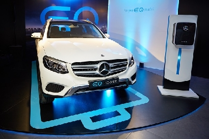 Mercedes-Benz introduce su marca EQ en Argentina