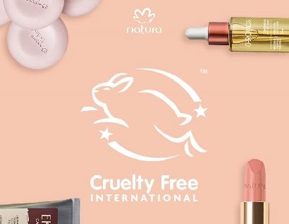 Natura recibió la certificación de Cruelty Free International