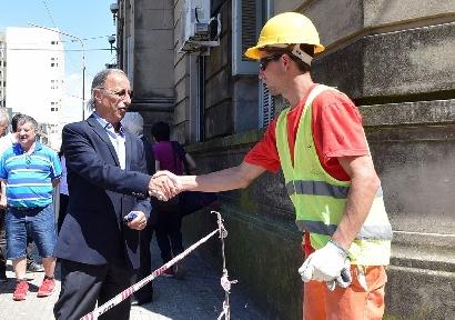 De la mano de RUS, avanzan las rampas accesibles en Concepción del Uruguay