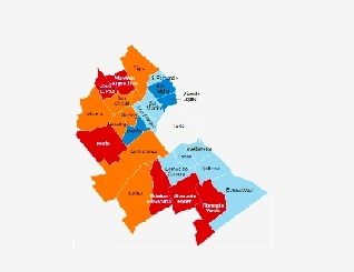 Importantes diferencias de progreso social entre los 24 municipios del Conurbano Bonaerense