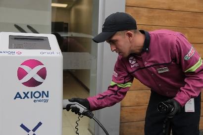 AXION energy ya ofrece carga para automóviles eléctricos
