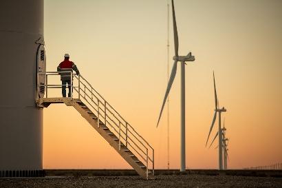PAE puso en marcha su primer parque eólico en Argentina