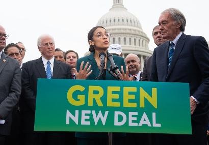 El Green New Deal cosecha aliados y detractores