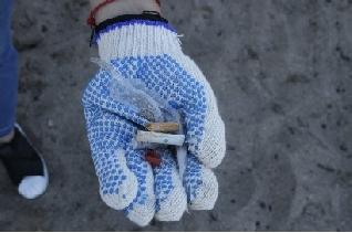La huella corporativa dejó su marca en la limpieza de playas