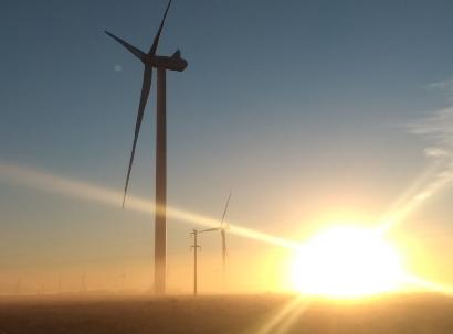 Con nueve meses de operación, el parque eólico Manantiales Behr rompe récords