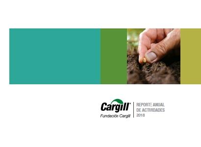 Fundación Cargill presentó su cuarto reporte de actividades