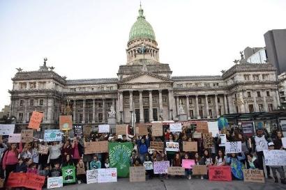 """El Senado declaró la """"Emergencia climática"""" en nuestro país"""