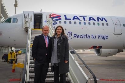 "LATAM Airlines Group invita a ""Recicla tu Viaje"""