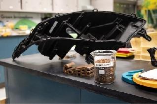 Ford y McDonald's transforman desechos de café en piezas de automóviles