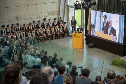 Se graduó la primera camada de la Escuela Técnica Roberto Rocca de Tenaris