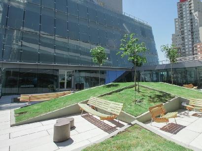 Banco Galicia inaugura edificio sustentable