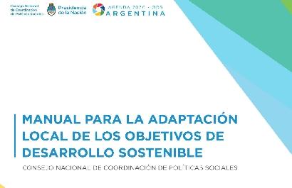 Lanzan un Manual para la Adaptación local de los Objetivos de Desarrollo Sostenible