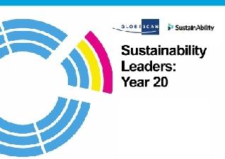 Los líderes en sustentabilidad, según GlobeScan y Sustainability