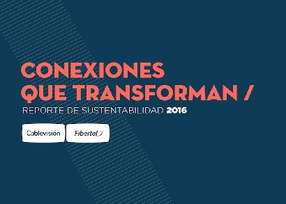 Cablevisión presenta su primer reporte de sustentabilidad