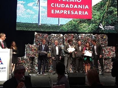AmCham Argentina celebró una nueva edición del Premio Ciudadanía Empresaria