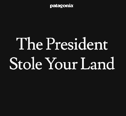 Patagonia le hace frente a Donald Trump